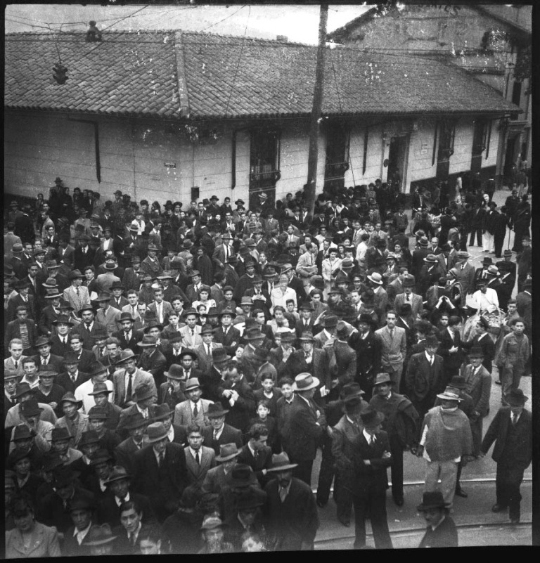 Manifestación en El Siglo