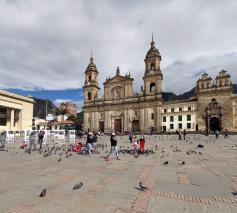 Plaza de Bolivar y la Catedral Primada. Google Street View 2016