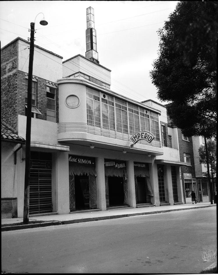 Fachada del Teatro Imperio