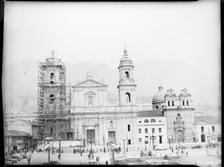 Basílica Primada. Frontes de la Basílica Primada