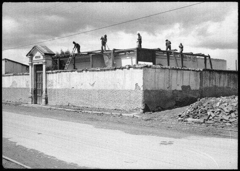 Demolición del anfiteatro de San Diego Sady González