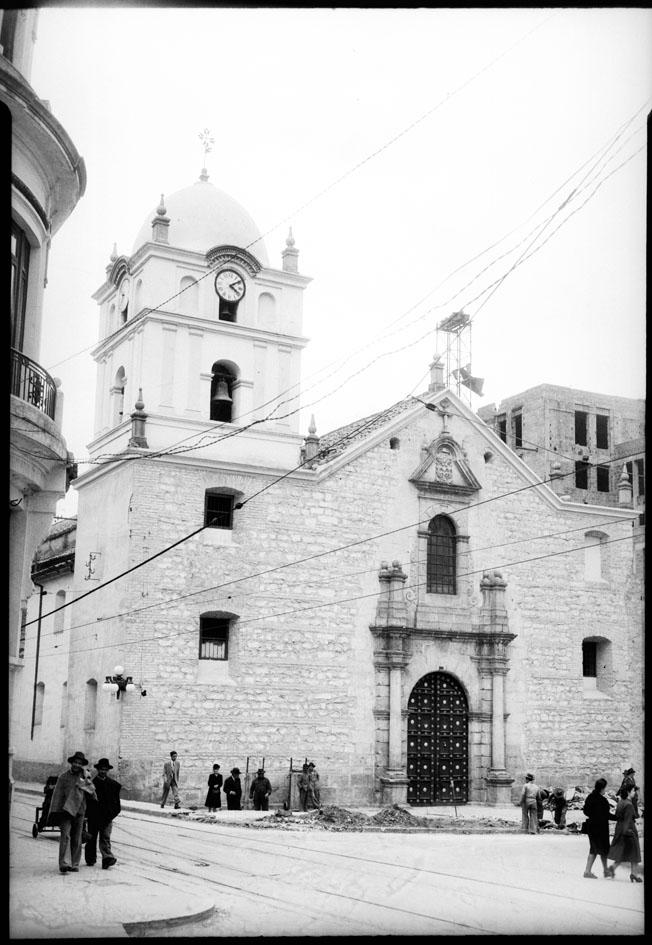Fachada de la iglesia de San Agustín