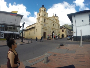 Iglesia la Candelaria Archivo de Bogotá