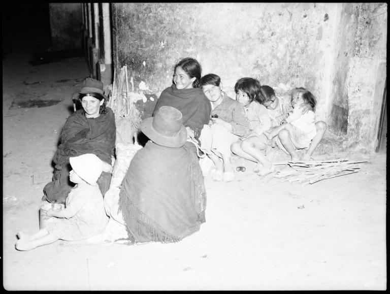 Campesinos migrantes a la ciudad en busca de oportunidades