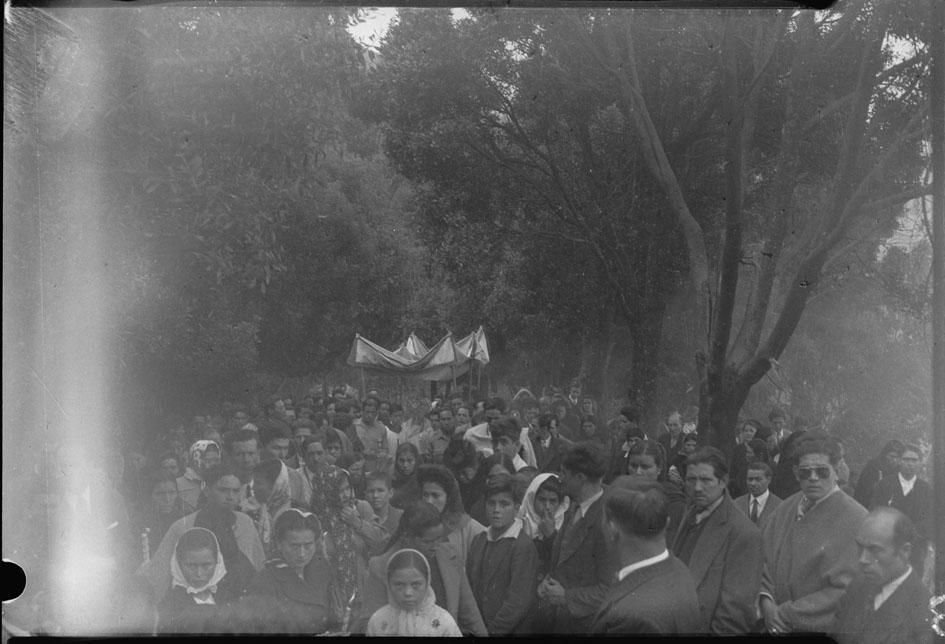 1948 procesion en monserrate
