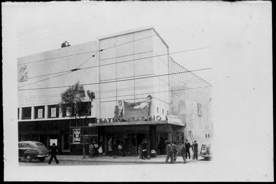 Teatro Aladino, Bogotá 1948