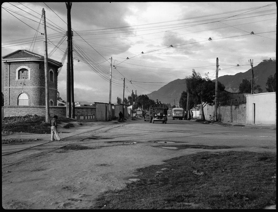 linea del tranvía 1948