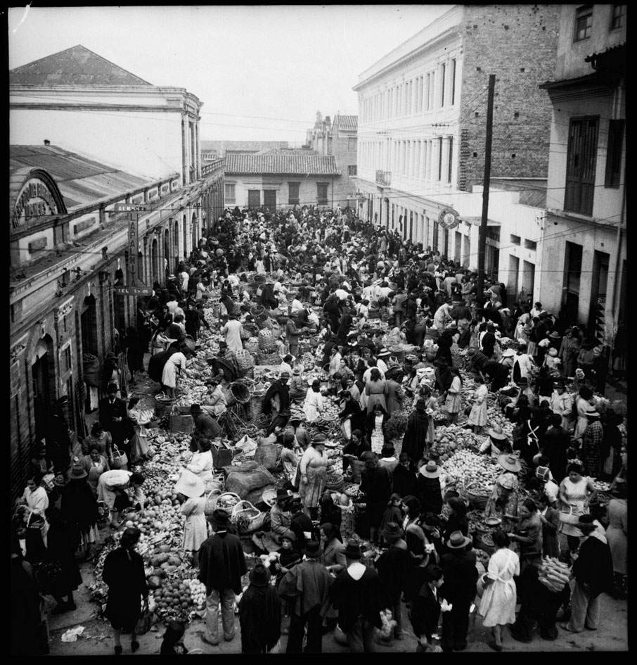 Plaza de mercado de Las Nieves